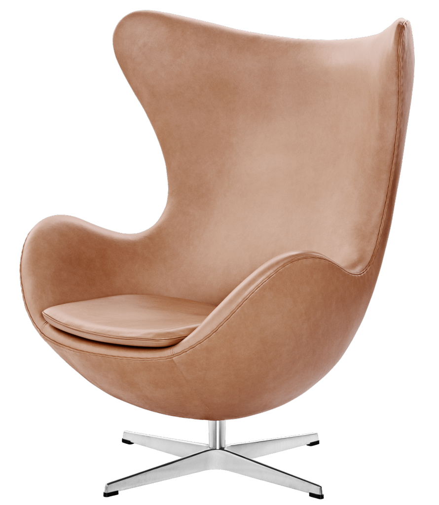 The Egg Chair, image via Fritz Hansen