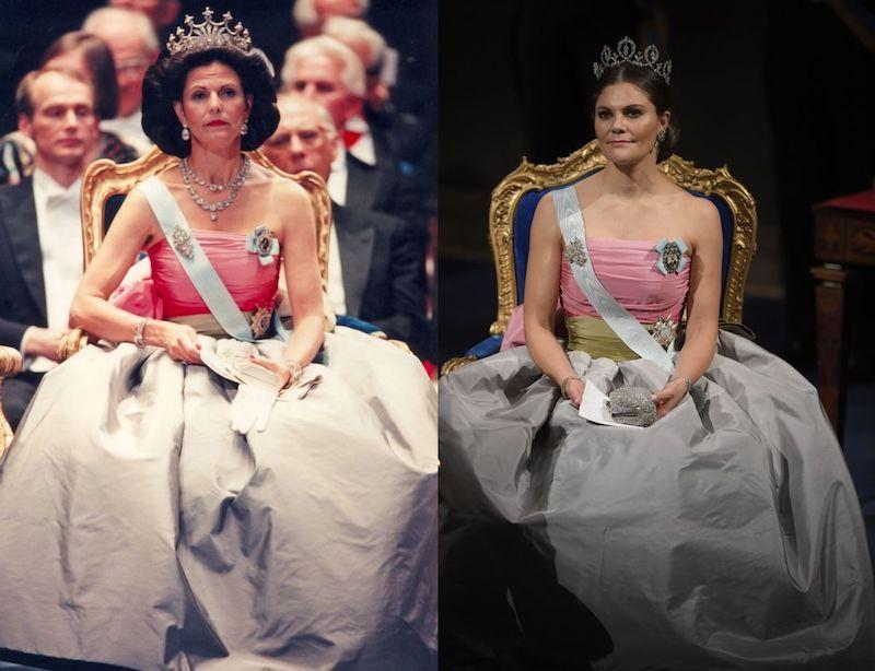 Ett föredöme. Kronprinsessan Victoria har återigen visat sitt goda omdöme samtidigt som hon hyllar sin mor, Sveriges Drottning