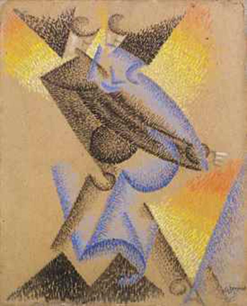Gino Severini, Tango Argentino (1913) Foto: Christie's