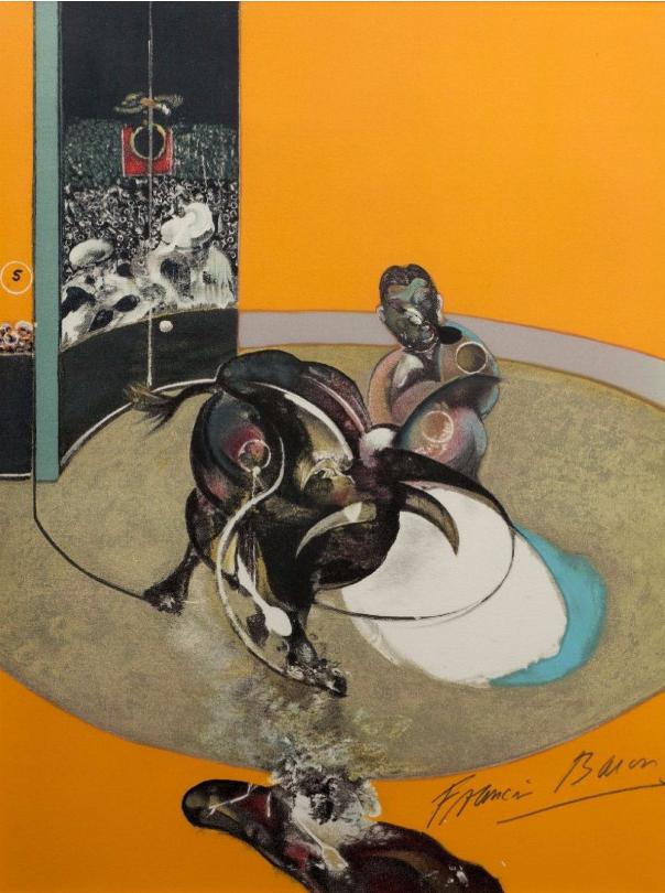""""""" Study for bullfight N° 2"""", 1969 Image via Morand"""