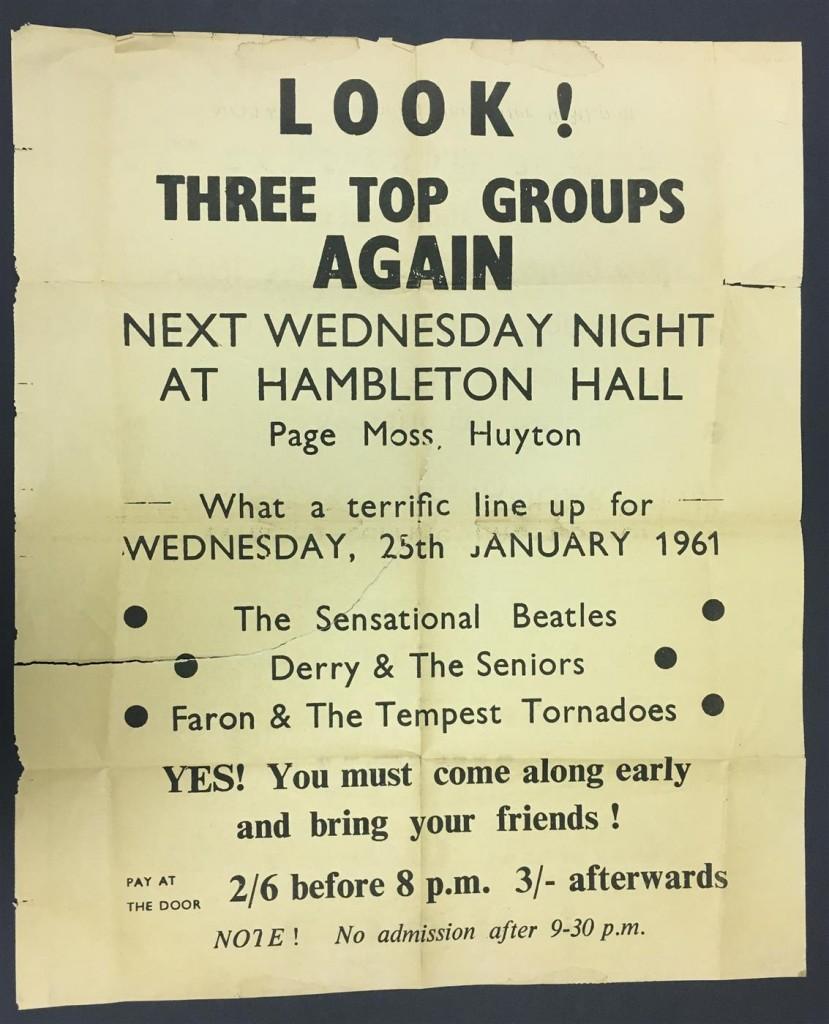 Exceedingly rare 1961 poster
