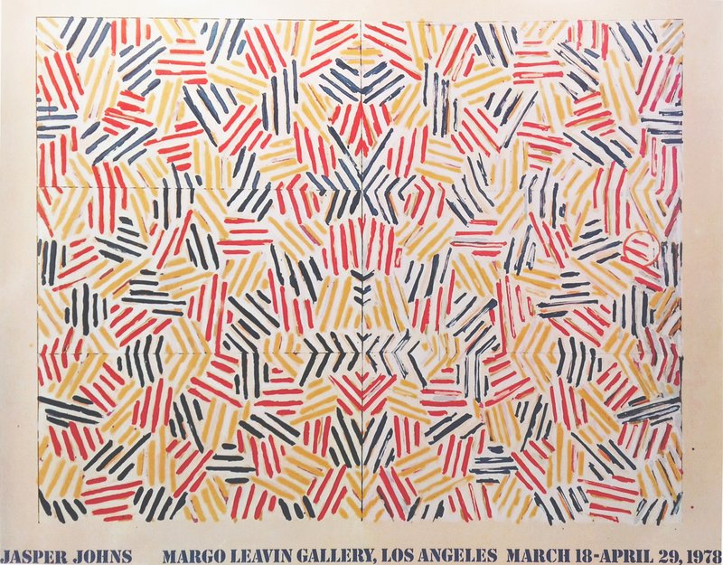"JASPER JOHNS ""Jasper Johns (Corpse and Mirror, 1978),"" Margo Leavin Gallery, Los Angeles, 1978"