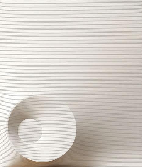 Agostino Bonalumi, Bianco e nero, 1968, 120x100 cm, Cire estroflesso