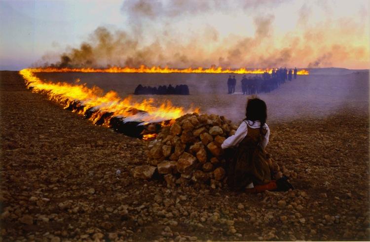 Still from Shirin Neshat's Passage. 2001.