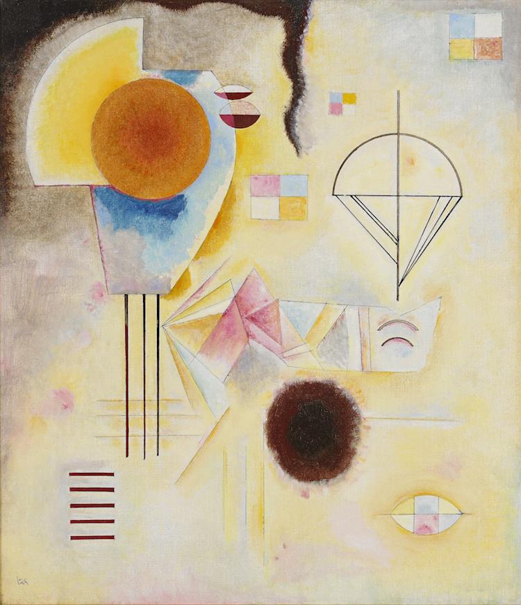 """Stockholms Auktionsverks paradnummer, åtminstone så här långt, är Wassily Kandinskys """"Krets u Fleck"""". Utropet är 25-30 miljoner kronor."""