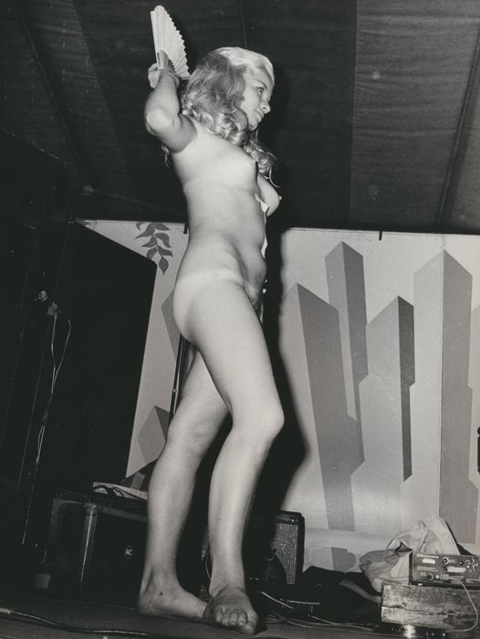 Olle Lindeborg, Miss Nude Competition, 1970