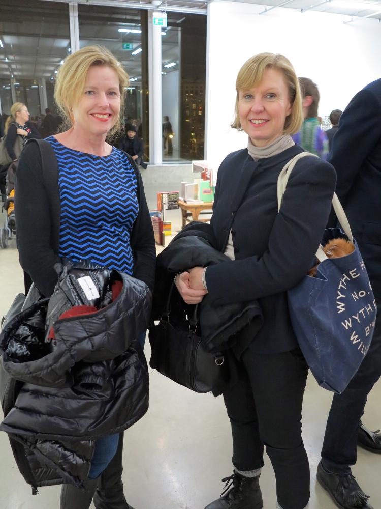 Pia Ölvebro och Camilla Carlberg