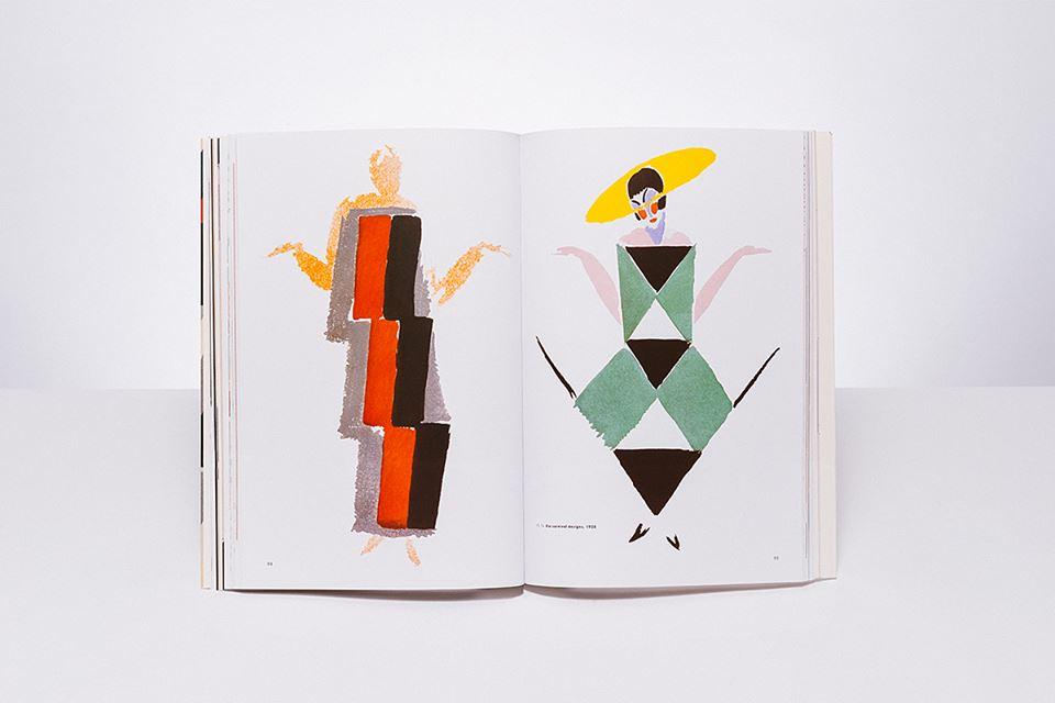 Sonia Delaunay's fashion sketches