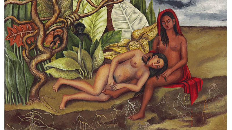 Frida Kahlo's Dos Desnudos en el Bosque sold for $8 005 000 at Christie's