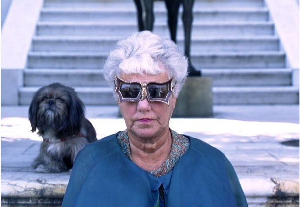 Peggy Guggenheim, Look, 1966 Image via Tony Vaccaro.