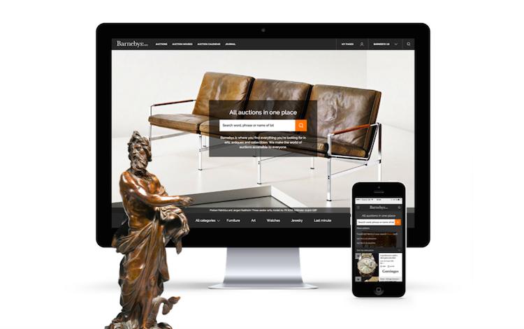 Barnebys rend l'art et les ventes aux enchères plus accessibles aux acheteurs