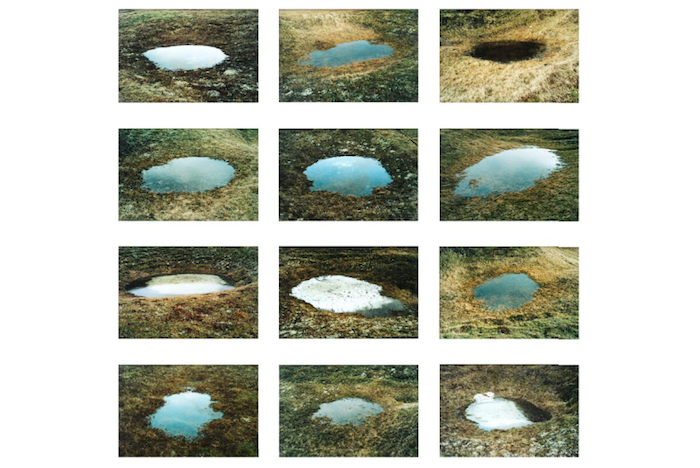 Spring Puddle Series by Olafur Eliasson from 2004, edition 8/12
