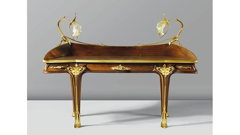 """LOUIS MAJORELLE und DAUM - Schreibtisch """"Orchidée"""", um 1903 Foto: Christie's"""