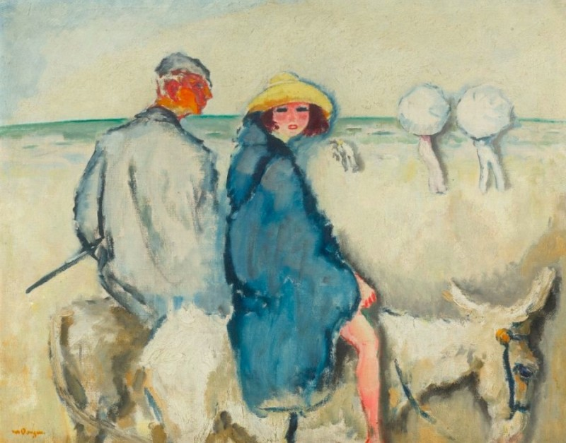 "Kees van Dongen, ""L'Ânier (L'Ânier de Scheveningen)"". 1912."