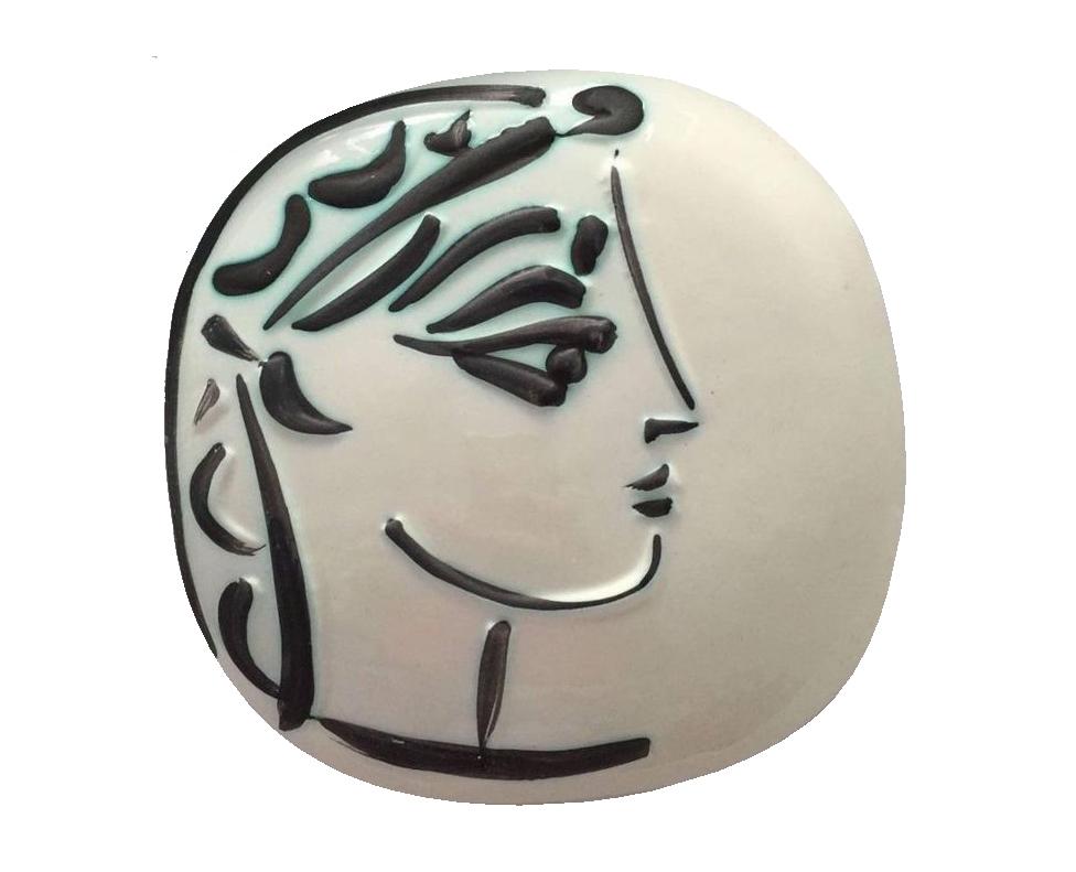 Pablo Picasso, « Profil de Jacqueline », en vente chez Catawiki
