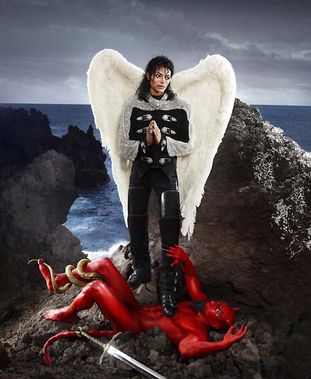David LaChapelle, Archangel Michael: And No Message Could Have Been Any Clearer, 2009