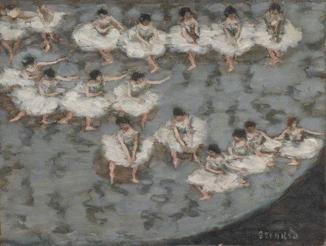 « Danseuses ou Le Ballet », vers 1896 – huile sur carton contrecollé sur panneau © MUSÉE D'ORSAY, DIST. RMN-GRAND PALAIS/PATRICE SCHMIDT/ADAGP, PARIS 2015