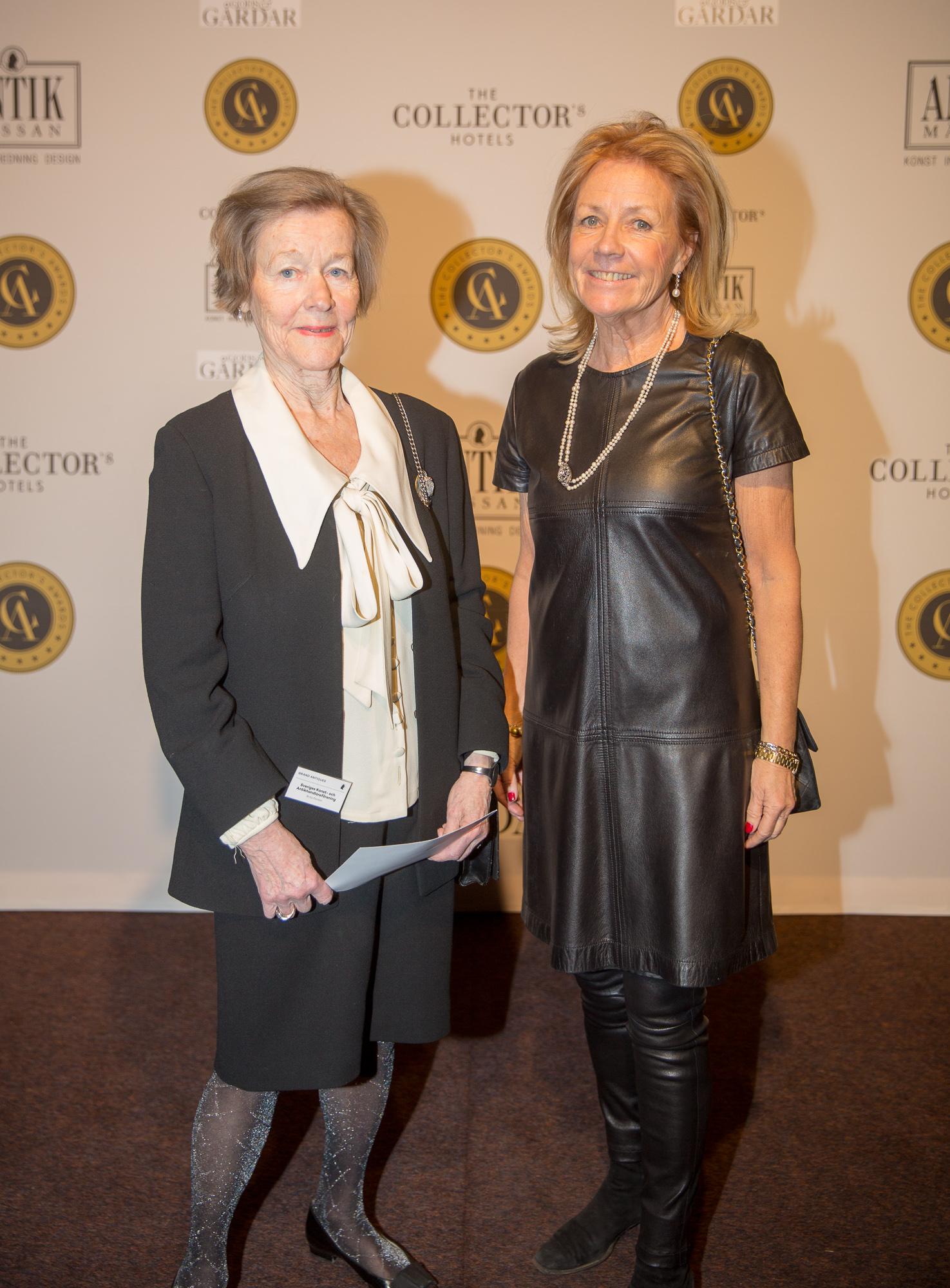 Brita Pardon och Agneta Banér