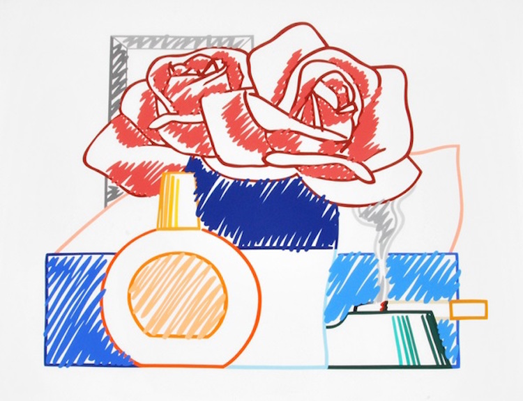 Tom Wesselmann. Scribble Version of Still Life #58. Estimate $8,000 – $10,000