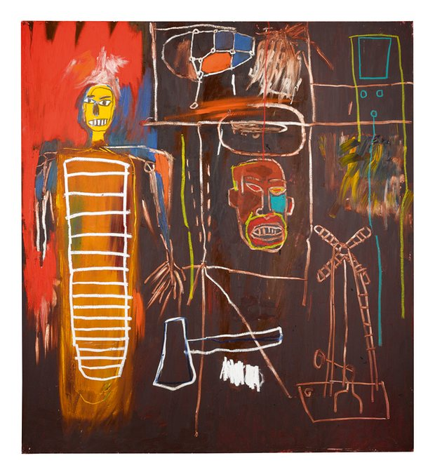 Basquiat's Air Power Image: Sotheby's