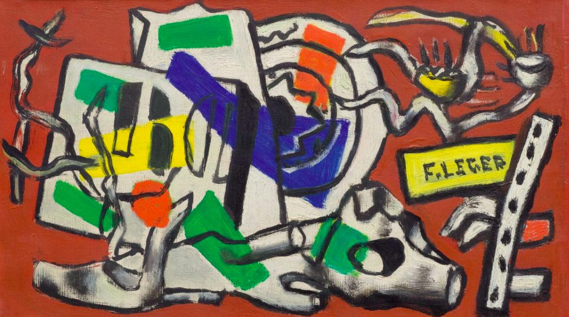 Fernand Léger, Composition, 1946 En vente chez Koller le 9 décembre
