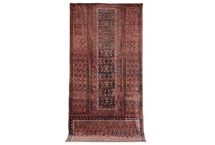 Farina matta, sent 1800-tal 620x315 cm. Lot: 12. Utrop: 148.000 SEK