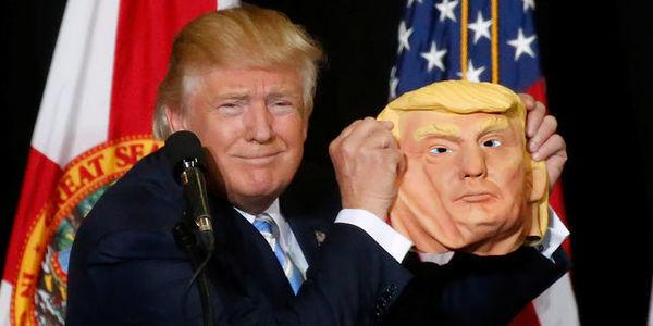 Le candidat républicain, Donald Trump, à Sarasota, en Floride, le 7 novembre 2016 Image: CARLO ALLEGRI / REUTERS