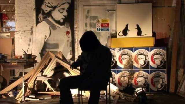 En 2011, l'identité de Banksy avait été mise aux enchères sur Ebay par un mystérieux utilisateur. La vente avait été annulée. Image via latimesblogs.latimes.com