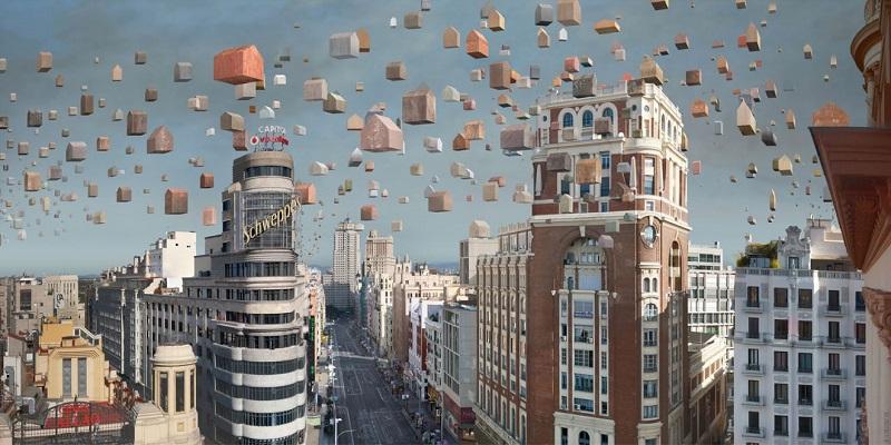 """Paco Díaz obra """"Madrid Callao"""""""