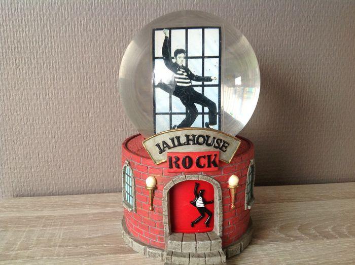 "Music Box ""Jailhouse Rock"", Elvis Presley Interprises Inc. USA"
