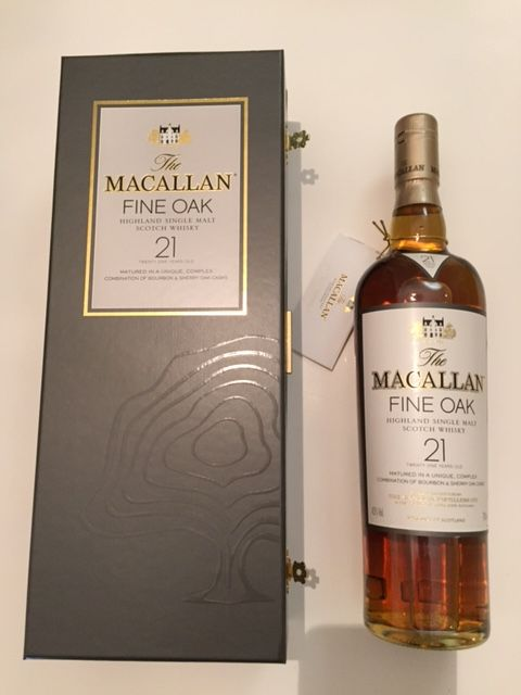 The Macallan Fine Oak Highland Single Malt Scotch Whisky 21 Jahre