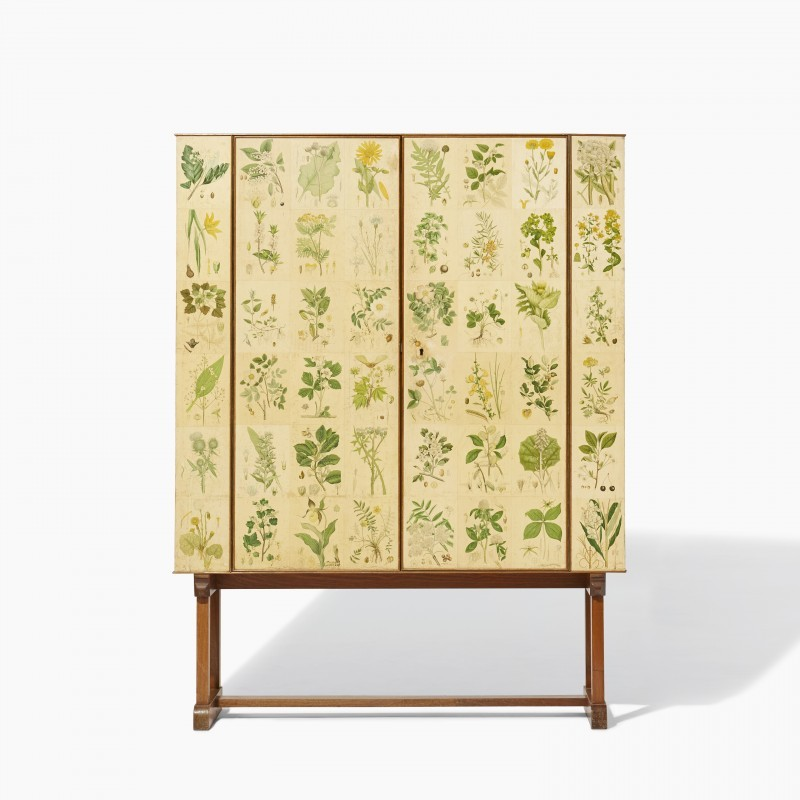 "Josef Frank, cabinet ""Flora"", Firma Svenskt Tenn"