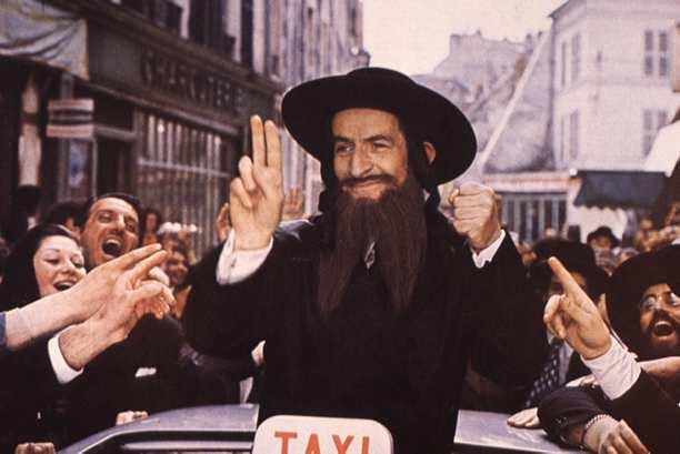 Les Aventures de Rabbi Jacob (1973), réalisé par Gérard Oury avec Louis de Funès