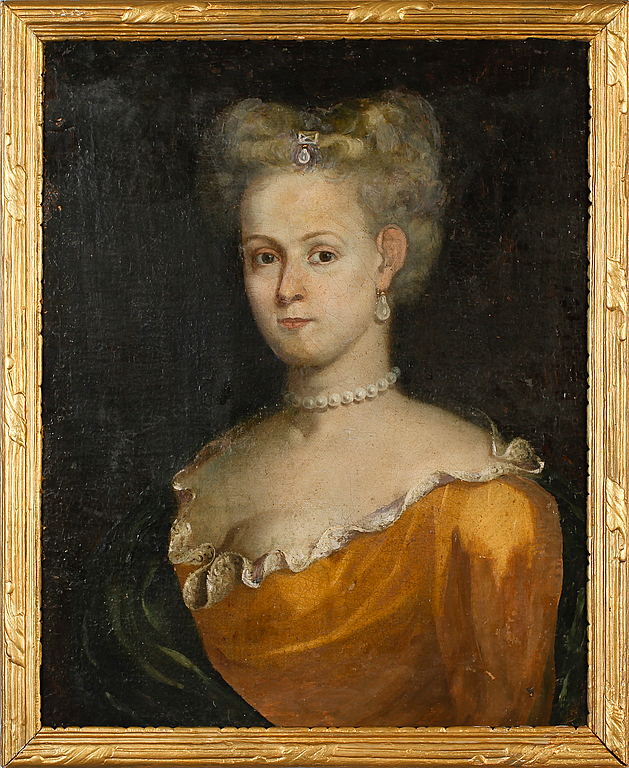 Okänd konstnär. Olja på på duk, uppfodrad, osignerad, 1700-/1800-tal. Utrop: 8.000 sek.Bukowskis market