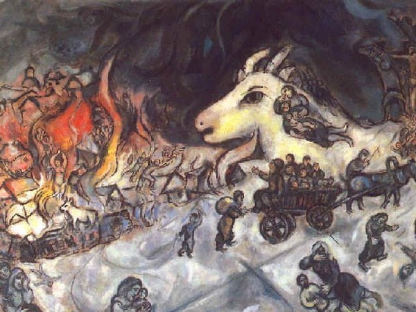 La Guerre, Marc Chagall