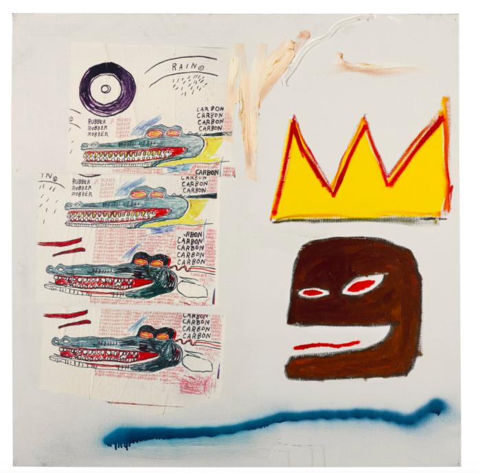 Jean-Michel Basquiat, Untitled, 1984Estimate: £500 000-700 000Hammer price: £2 389 000