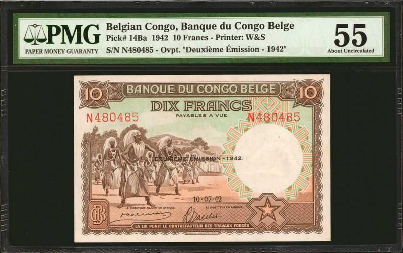 Francos CONGO BELGA