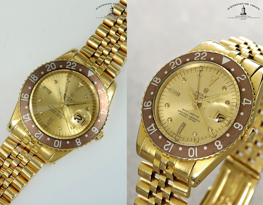 ROLEX Oyster Perpetual GMT-Master Superlative Chronometer, ca. 1967
