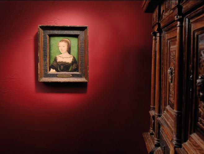 CORNEILLE DE LA HAYE gen. DE LYON und Werkstatt - Portrait der Madame Anne de Pisseleu, Duchesse d'Étampes Schätzung: 200.000 - 300.000 EUR