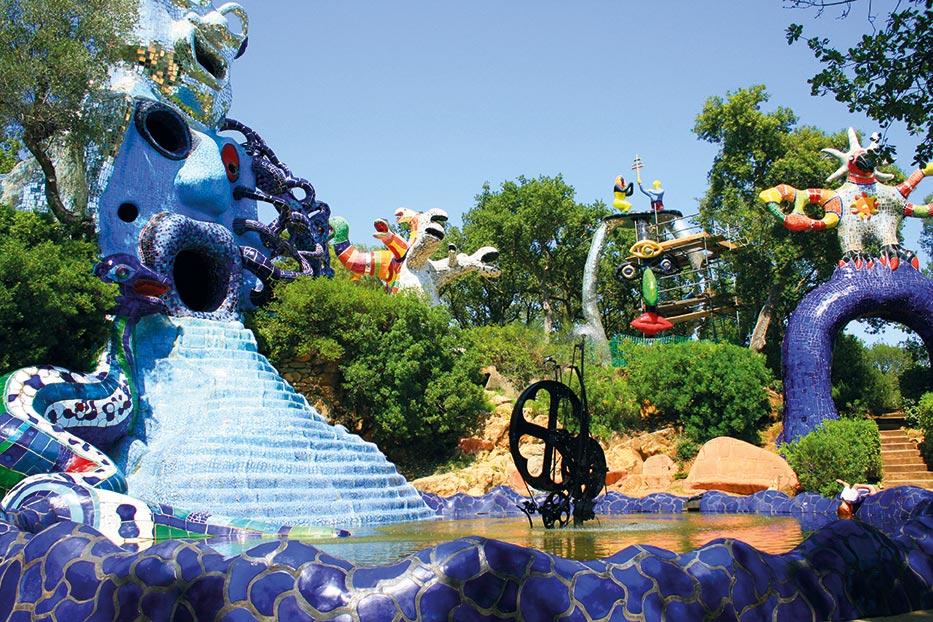 Le Jardin des Tarots, image via Francetv Éducation