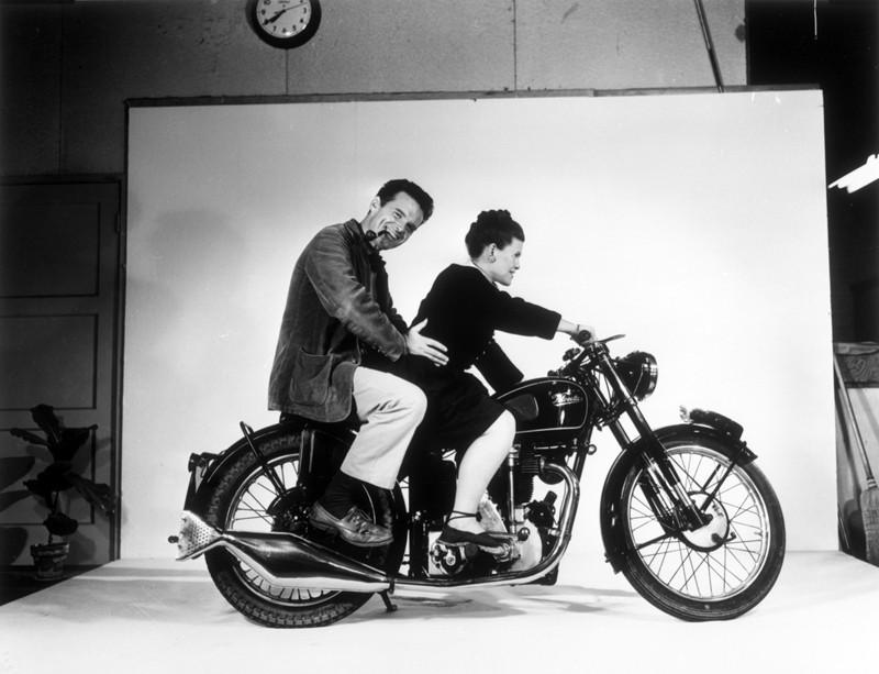 Ray and Charles Eames. Photo: Studio Eames.