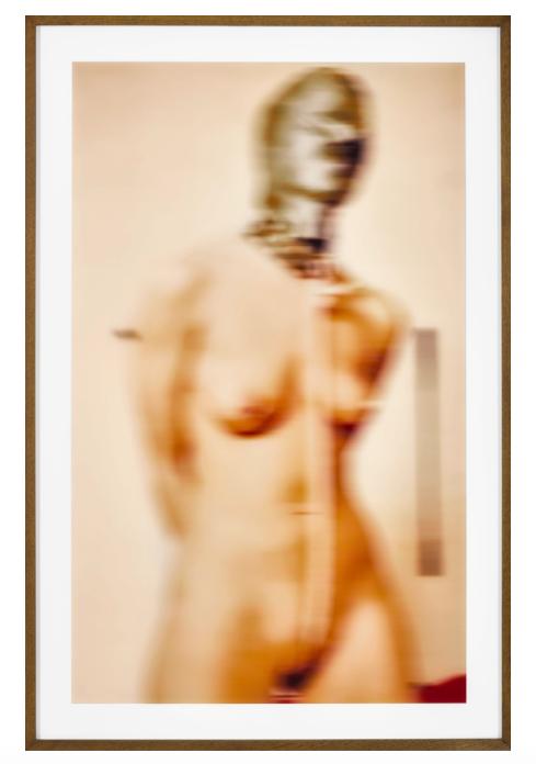 Thomas Ruff, Nudes er21, 2000Laserchrome print diasec mounted, in artist's frame