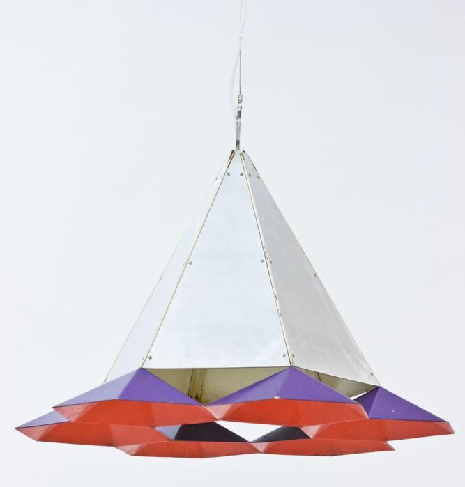 """Simon Henningsen, """"Tivolilampa"""" 1960. Fast pris: 18 000 Sek. Nordings Antik."""