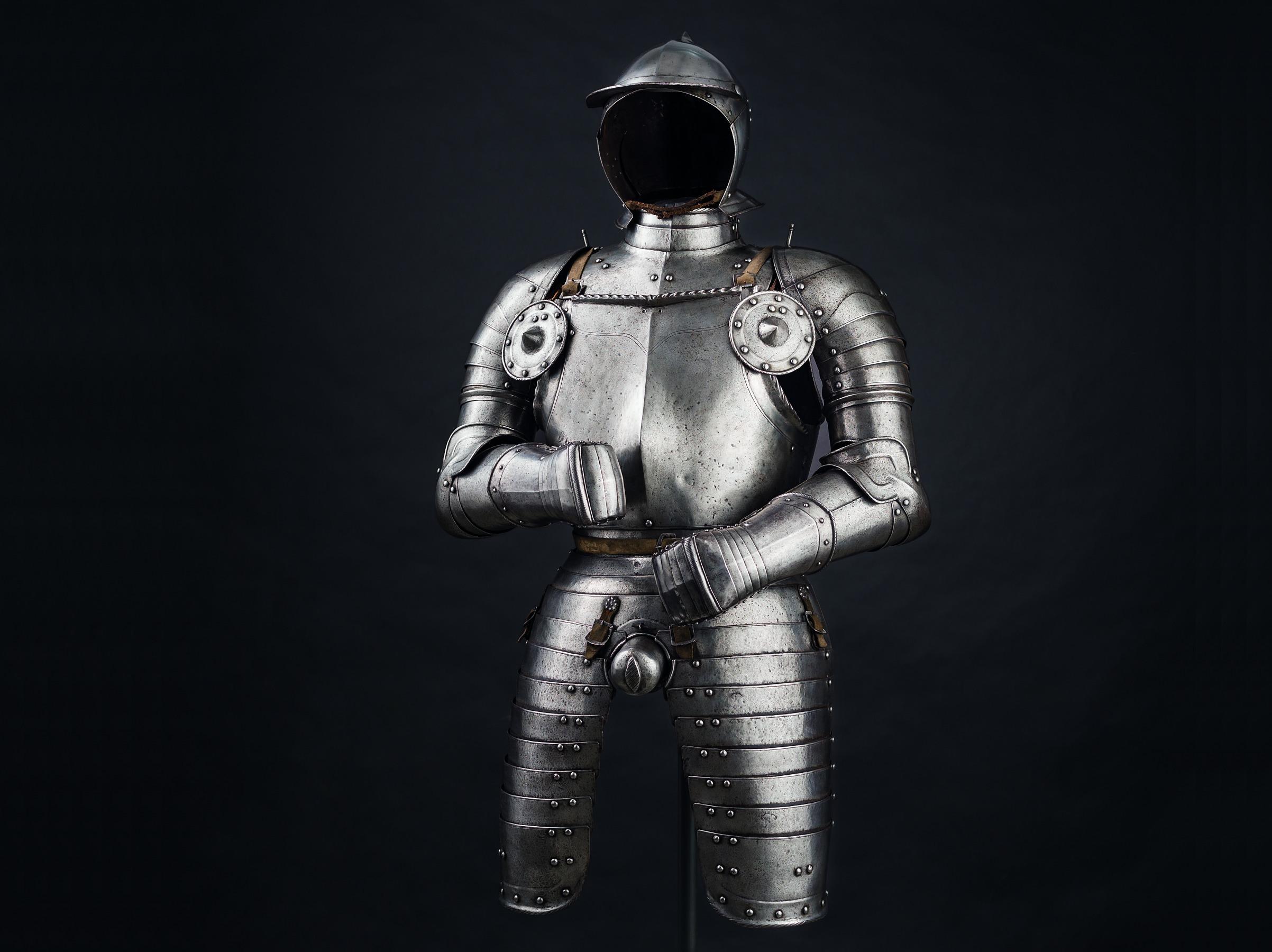 Armure d'officier, Nuremberg vers 1540
