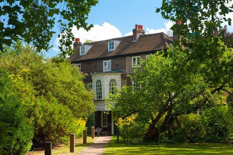 Hogarth House i Chiswick. Foto: britainexpress.com