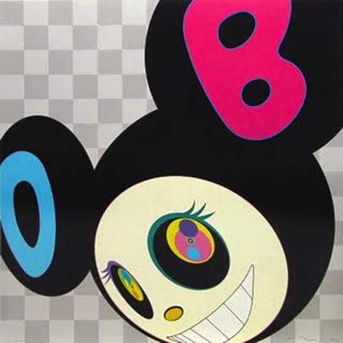 TAKASHI MURAKAMI And then Black Mr DOB, 2006