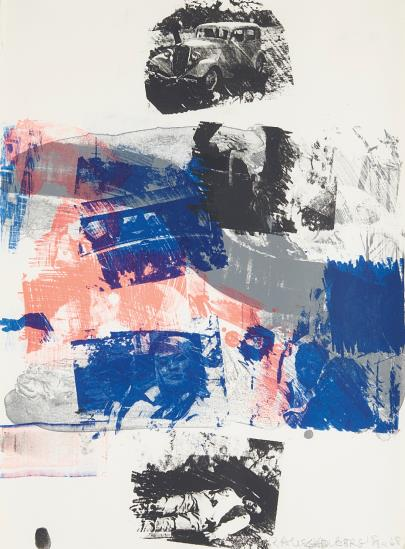 Robert Rauschenberg, Still, from Reels (B+C) , 1968 On sale at Phillips