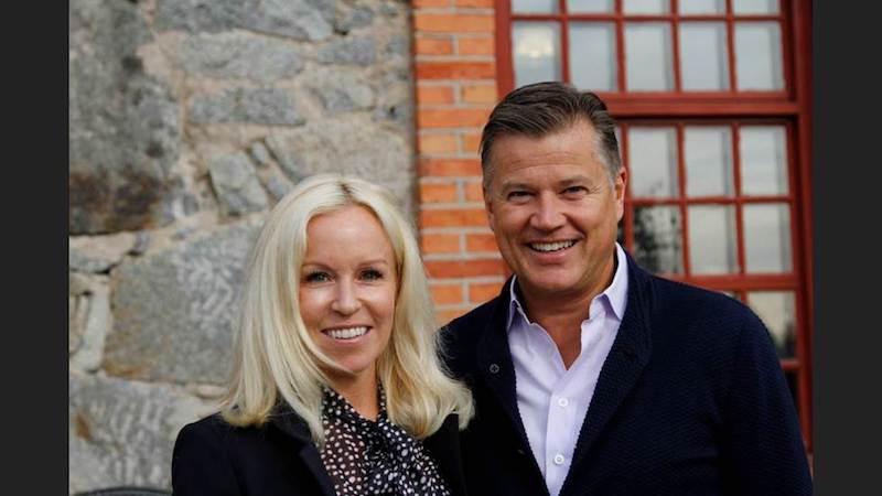 Åsa och Per Taube. I styrelsen för Gelba Partners sitter Pers hustru Åsa Taube som även hon även är aktiv i Gelba