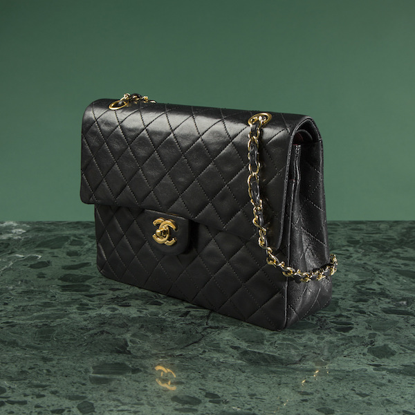 Väska, Chanel, Double Flap Bag. Utropspris: 20 000 kronor.