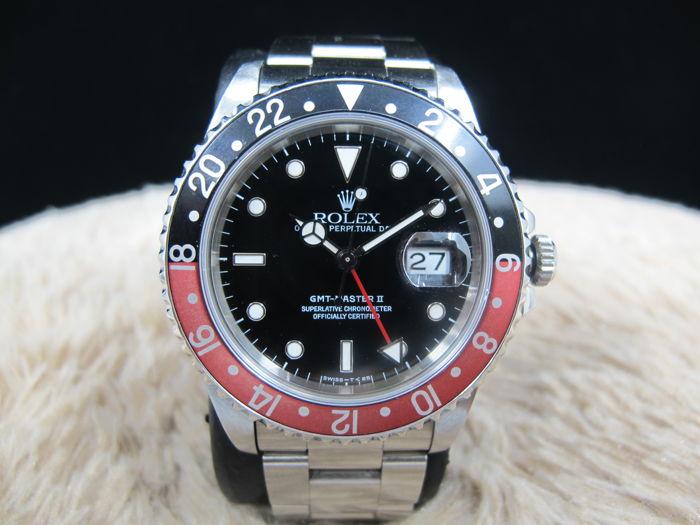 Rolex GMT-MAster II, Stahl, 1990er Jahre